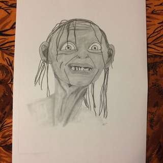Lord Of The Rings Smigel Drawing/Artwork