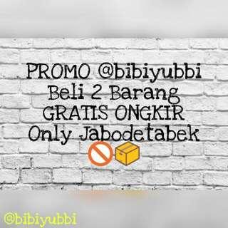 Promo Gratis Ongkir Jabodetabek