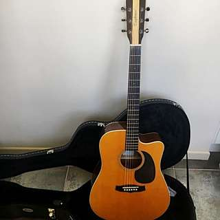 🎸Tanglewood Dreadnought Electro Acoustic + Tuner & String Capo