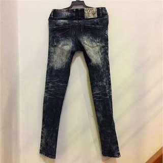 PSGB 韓版合身牛仔褲