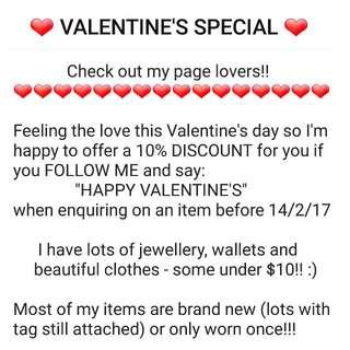 🔥🔥❤ VALENTINE'S SPECIAL ❤🔥🔥