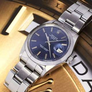 SOLD-    34mm Rolex 1500 Oyster Perpetual Date