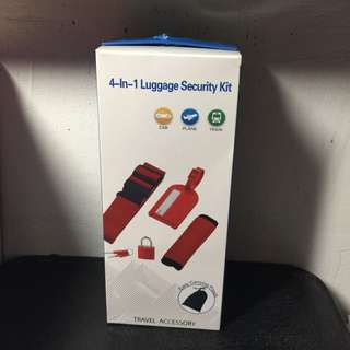 4 in 1 Luggage Accessories