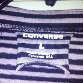 Pre Loved Converse long Sleeves Blouse