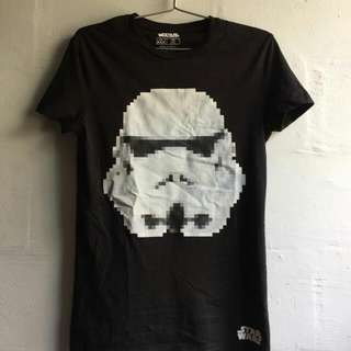 ASOS x Star wars Stormtrooper Face Tee