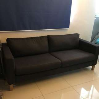 Ikea two-seat sofa