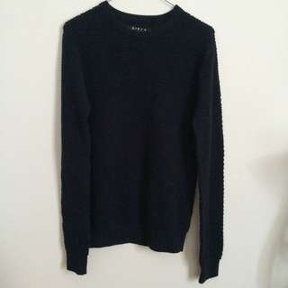 forever 21 navy sweater