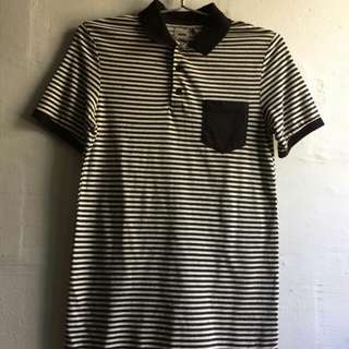 ASOS Stripes Polo Tee