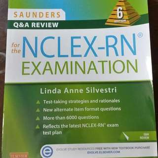 Saunders Q&A Review for The Nclex - RN Examination