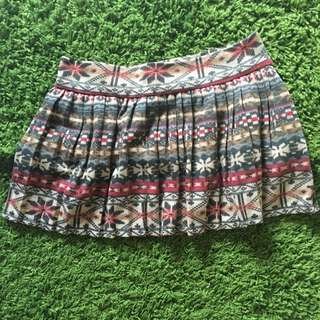 [NEW] Winter Pattern Skirt