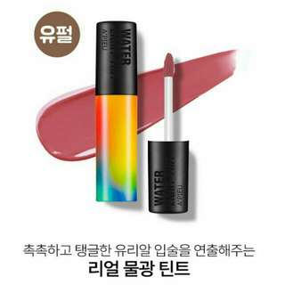 A'pieu Water Light Tint 彩虹清爽唇釉 Rd03