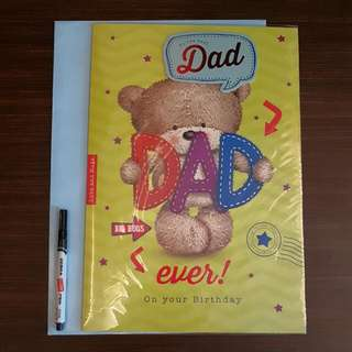BN XL Father's Day Card