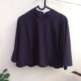 blouse black bkk