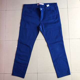 GIORDANO Blue Denim Pants