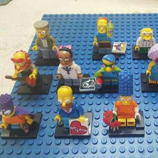 Simpsons Collectible Minifigure Series 2
