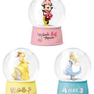 一番賞 日本 水晶球 聖誕節 米妮 貝兒 愛麗絲