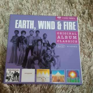5 Original Albums Of Earth Wind And Fire