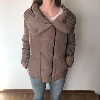 Puffy Satin Jacket Size 10
