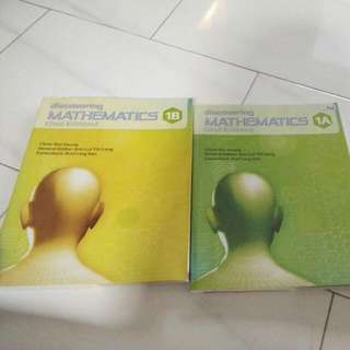 Math Textbooks Sec1 A and B