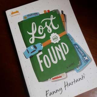 Novel Dewasa Muda - Lost and Found