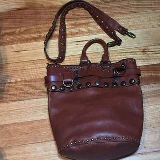 Heavy Leather Bag