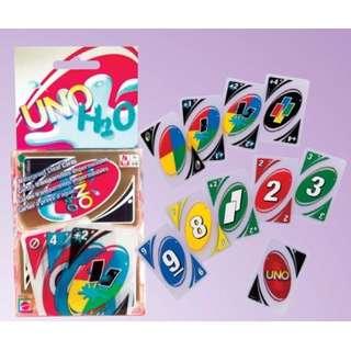 Uno H2O Cards