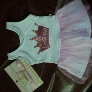 Little Princess Dress And Crown Head Band