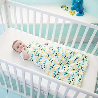 2.5 tog, 18-36月前拉鍊款英國Grobag – 三角旗幟 防踢被嬰兒睡袋 全新