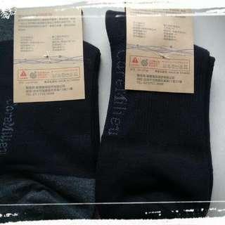 🚚 奈米 竹炭除臭健康襪 2雙 克霉樂 台灣製