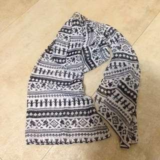 泰國購入印花絲巾