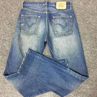Levis 經典501 排釦牛仔褲 W30 L34