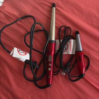 VS SASSOON Hair Curling Wand & Mini