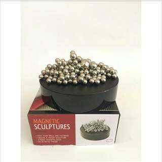 Magnetic Sculptures / Mainan Magnet
