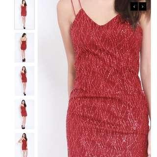 BN Carrislabelle's Glittery Fitting Dress