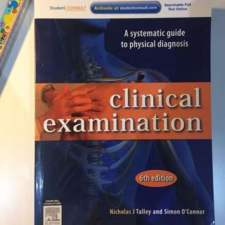 TALLEY O'CONNOR CLINICAL EXAMINATION