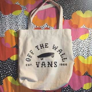 VANS shoulder tote bag