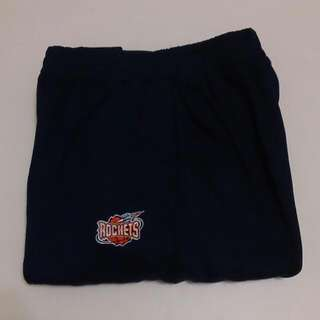 🚚 含運 全新正版NBA 休士頓火箭隊 熱身長褲Warm-up Pants 只有一件