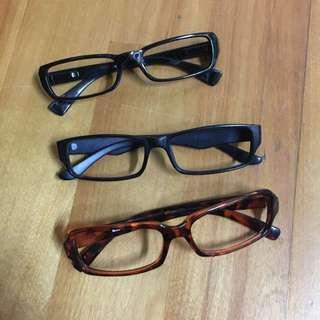二手 無鏡片 眼鏡框