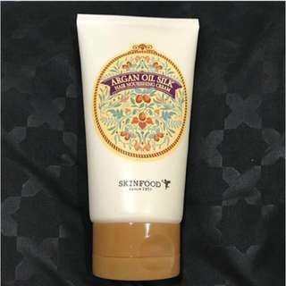 Skinfood Argan Oil Silk Hair Nourishing Cream