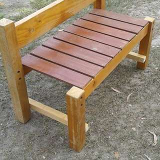 Re Purposed Bench Seat