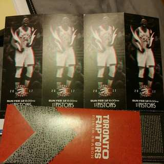 4 Raptor Tickets Feb 12 304 R2