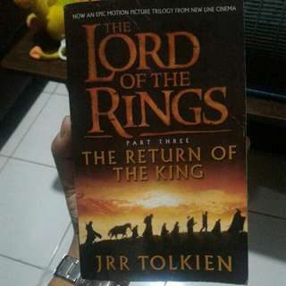 The Lord of The Rings part 3, The Return of The King (Novel Barat)