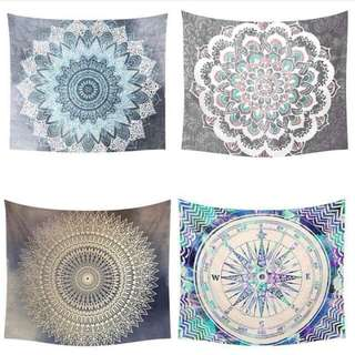 [Include Postage] Mandala Tapestry Wall Hanging