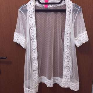 Lace outer by Body Cotton On