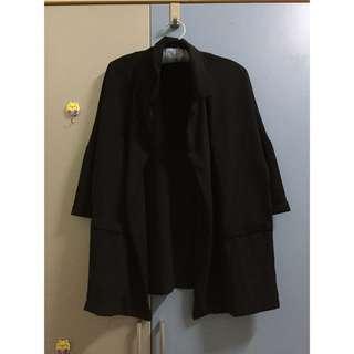 雪紡西裝外套(七分袖)