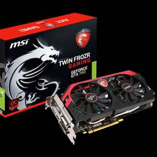 MSI Twin Frozr GTX 760 OC 2GB