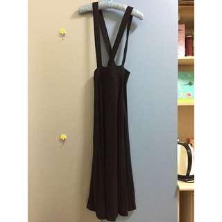 長版吊帶裙