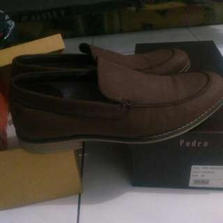 Bata Men Doc Brown Formal 85% Seperti Baru