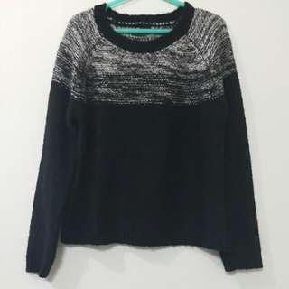 賣場贈品💍NET 漸層黑毛衣