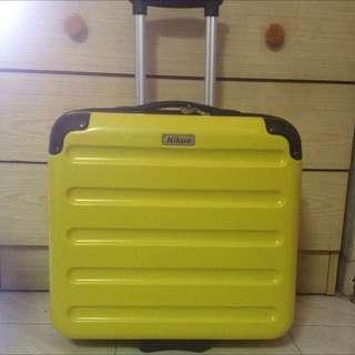 Nikon Luggage Trolley Bag Suitcase For DSLR Camera Lens / Black Duffle Bag